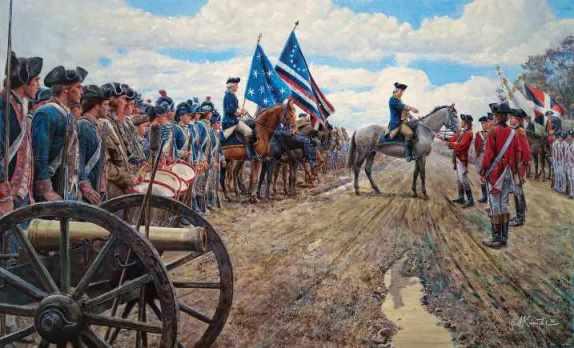 Освободительная война в США. Искусство периода